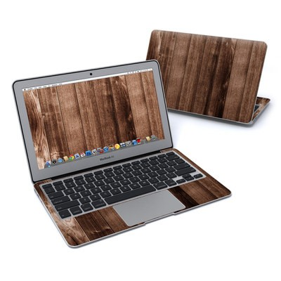 MacBook Air 11in Skin - Stained Wood