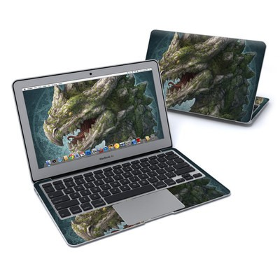MacBook Air 11in Skin - Stone Dragon