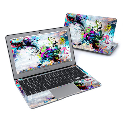 MacBook Air 11in Skin - Streaming Eye