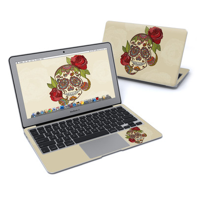MacBook Air 11in Skin - Sugar Skull