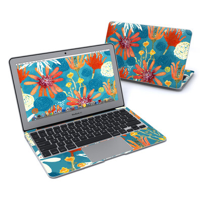 MacBook Air 11in Skin - Sunbaked Blooms