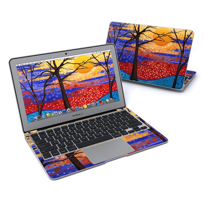 MacBook Air 11in Skin - Sunset Moon