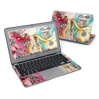 MacBook Air 11in Skin - Surreal Owl