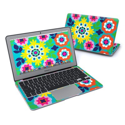 MacBook Air 11in Skin - Susani Sun