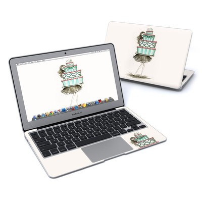 MacBook Air 11in Skin - She Takes The Cake