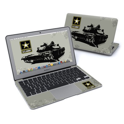 MacBook Air 11in Skin - Tank Tuff