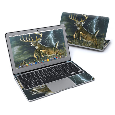 MacBook Air 11in Skin - Thunder Buck