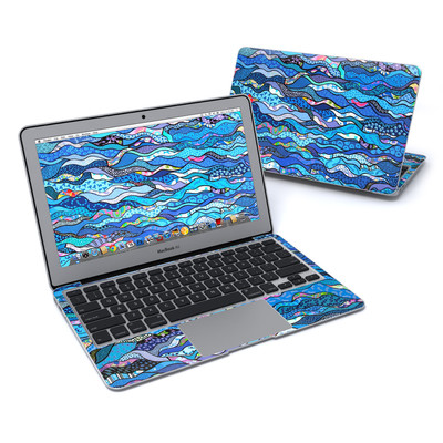 MacBook Air 11in Skin - The Blues