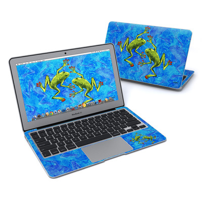 MacBook Air 11in Skin - Tiger Frogs