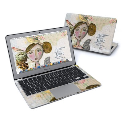 MacBook Air 11in Skin - Time To Trust