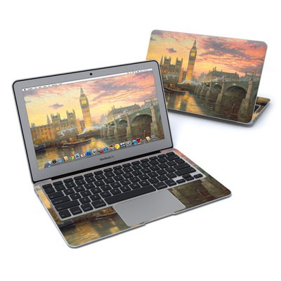 MacBook Air 11in Skin - Thomas Kinkades London