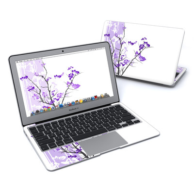 MacBook Air 11in Skin - Violet Tranquility