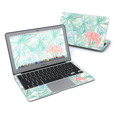 MacBook Air 11in Skin - Tropical Elephant