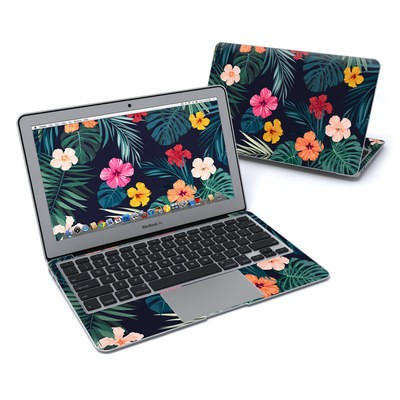 MacBook Air 11in Skin - Tropical Hibiscus