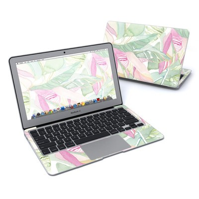 MacBook Air 11in Skin - Tropical Leaves
