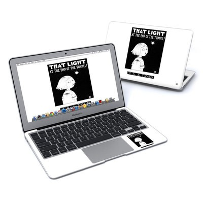 MacBook Air 11in Skin - Train Tunnel
