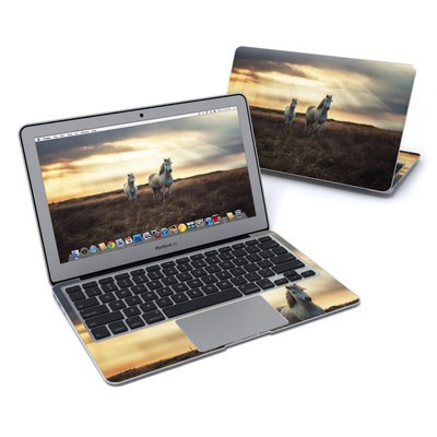 MacBook Air 11in Skin - Hornless Unicorns