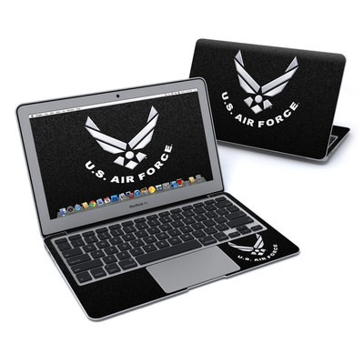 MacBook Air 11in Skin - USAF Black