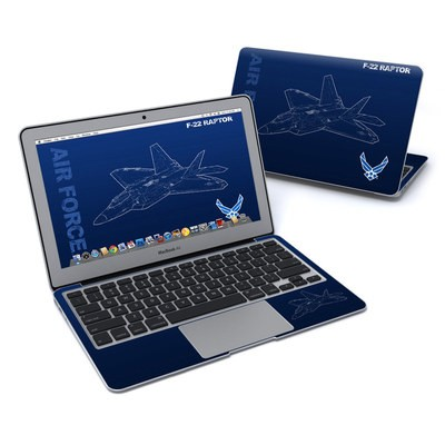 MacBook Air 11in Skin - F-22 Raptor