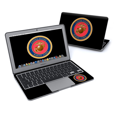 MacBook Air 11in Skin - USMC Black