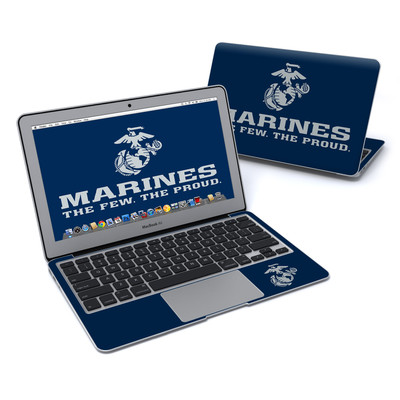 MacBook Air 11in Skin - USMC Blue