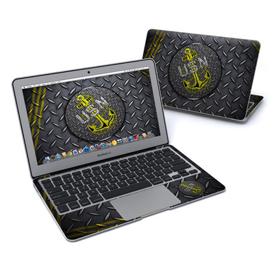 MacBook Air 11in Skin - USN Diamond Plate