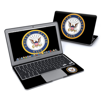 MacBook Air 11in Skin - USN Emblem