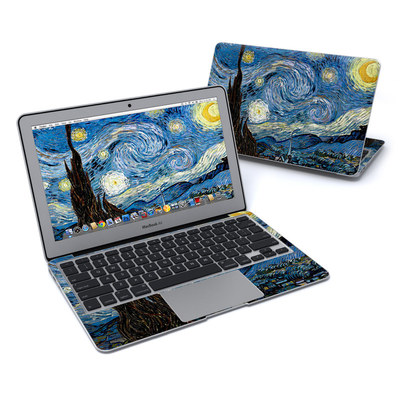 MacBook Air 11in Skin - Starry Night