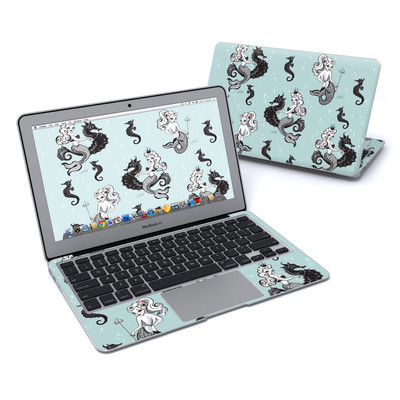 MacBook Air 11in Skin - Vintage Mermaid