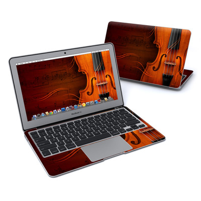 MacBook Air 11in Skin - Violin
