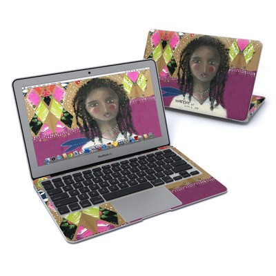 MacBook Air 11in Skin - Warrior of Love