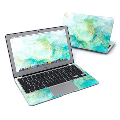 MacBook Air 11in Skin - Winter Marble