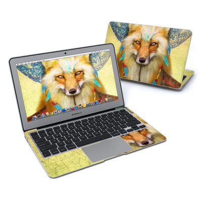 MacBook Air 11in Skin - Wise Fox