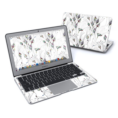 MacBook Air 11in Skin - Wildflowers