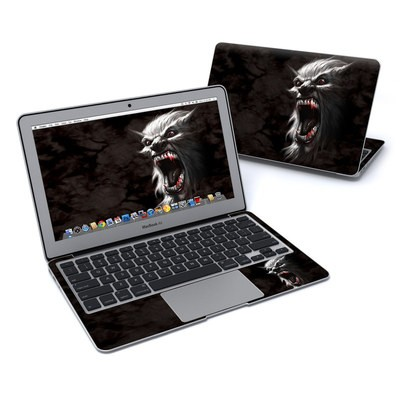MacBook Air 11in Skin - Wolfman