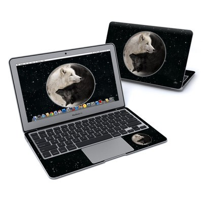 MacBook Air 11in Skin - Wolf Zen