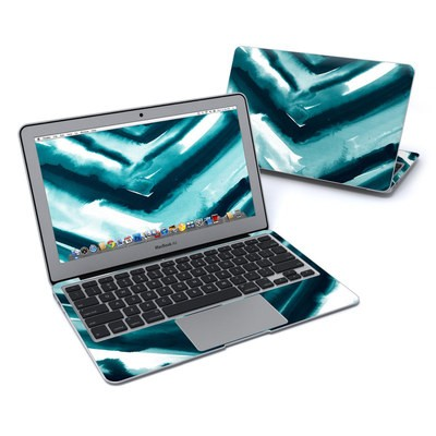 MacBook Air 11in Skin - Watercolor Chevron