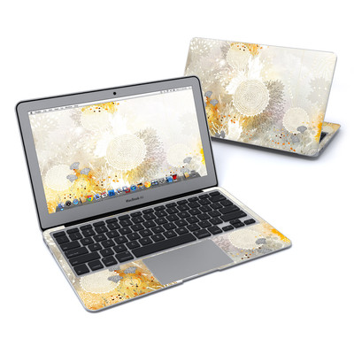 MacBook Air 11in Skin - White Velvet