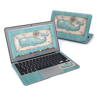 MacBook Air 11in Skin - Whale Watch