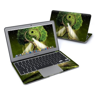 MacBook Air 11in Skin - Yin Yang Tree