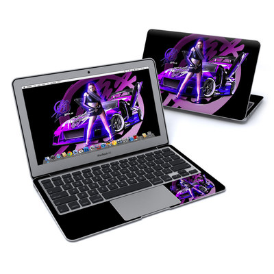 MacBook Air 11in Skin - Z33 Purple
