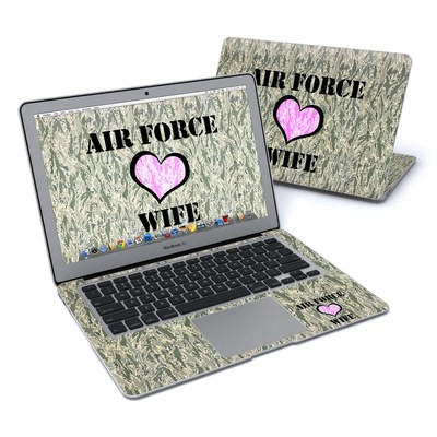 MacBook Air 13in Skin - Air Force Wife
