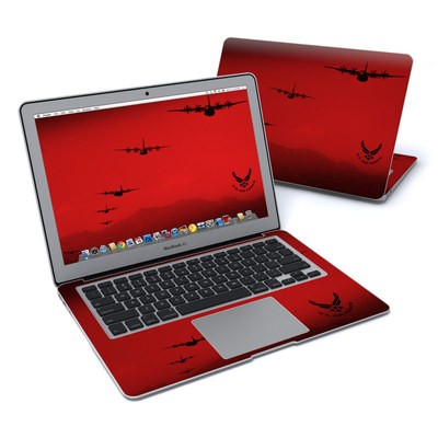 MacBook Air 13in Skin - Air Traffic