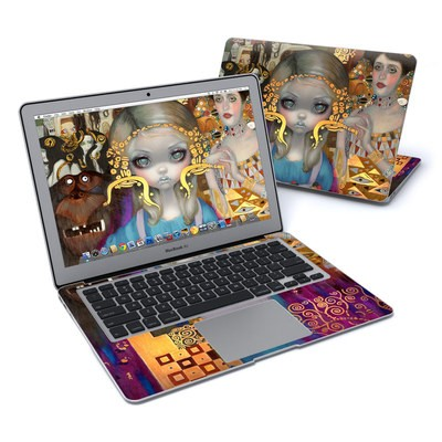 MacBook Air 13in Skin - Alice in a Klimt Dream