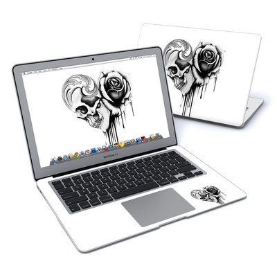 MacBook Air 13in Skin - Amour Noir