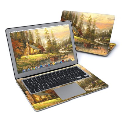 MacBook Air 13in Skin - A Peaceful Retreat