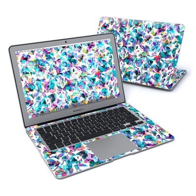 MacBook Air 13in Skin - Aquatic Flowers