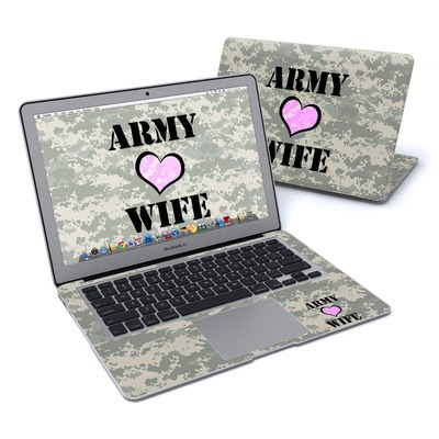 MacBook Air 13in Skin - Army Wife