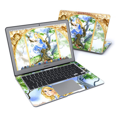 MacBook Air 13in Skin - Alice's Tea Time