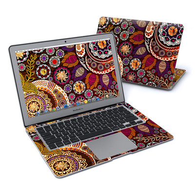 MacBook Air 13in Skin - Autumn Mehndi